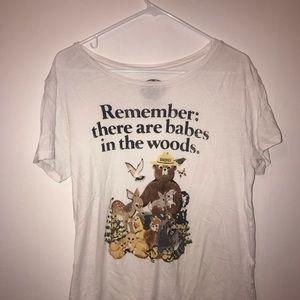 Lucky Brand Smokey the Bear T-shirt